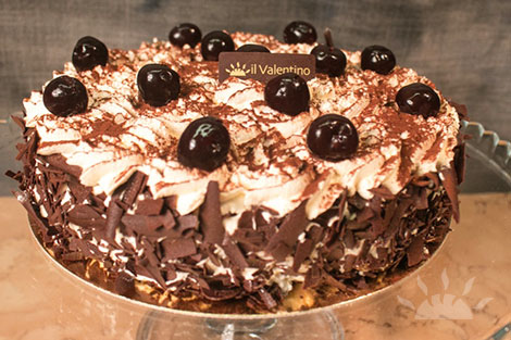 Black Forest Gateau | Il Valentino Bakery & Cafe | Best Cakes in Dublin