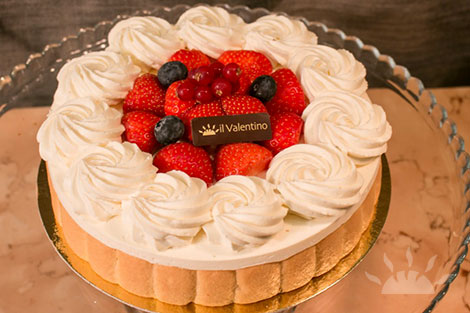 Strawberry Charlotte | Il Valentino Bakery & Cafe | Best Cakes in Dublin