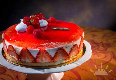Strawberry Fraisier | Il Valentino Bakery & Cafe | Best Cakes in Dublin