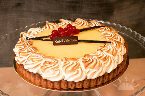 Lemon Curd & Meringue Crostata | Il Valentino Bakery & Cafe | Best Cakes in Dublin